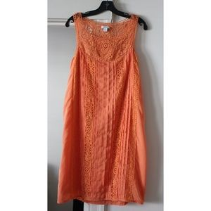 Sundance Crochet Amira Dress, Tangerine Med